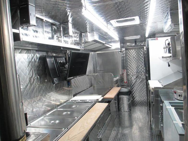 Gallery For gt Inside Mobile Food Truck